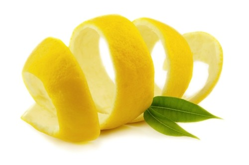Lemon Peel :: Citrus limon